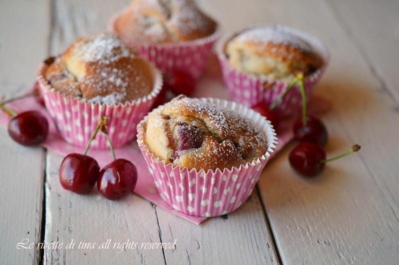 Amato Muffin alle ciliegie,muffin veloci NF87