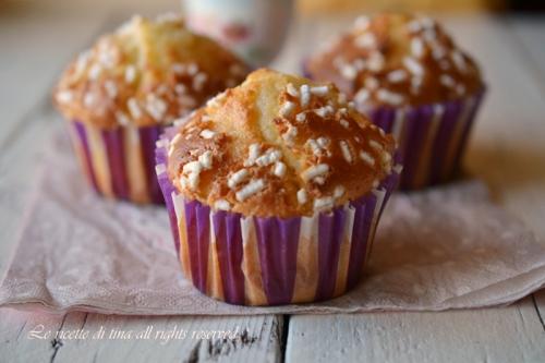 muffin,muffin allo yogurt,le ricette di tina