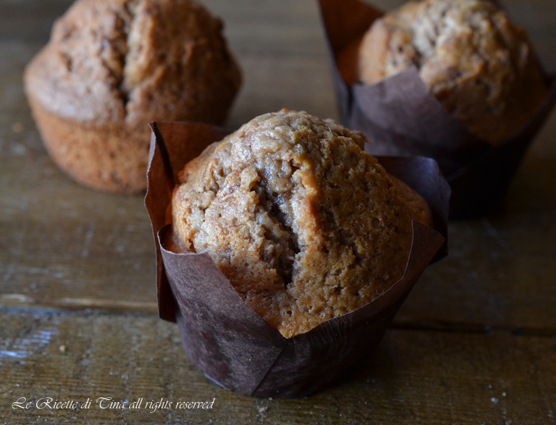 muffin cioccolato,muffin veloci,dolci per colazione,dolci facili,le ricette di tina