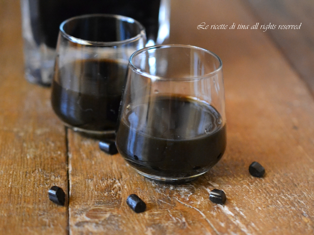 liquori bimby,liquore alla liquirizia bimby,ricette bimby,le ricette di tina