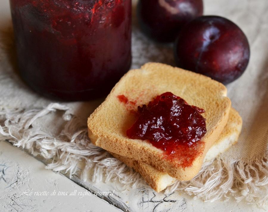 Marmellata di prugne for Marmellate fatte in casa senza zucchero