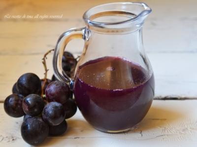 sciroppo d'uva,succo d'uva ricette,concentrato d'uva,spremuta d'uva,le ricette di tina
