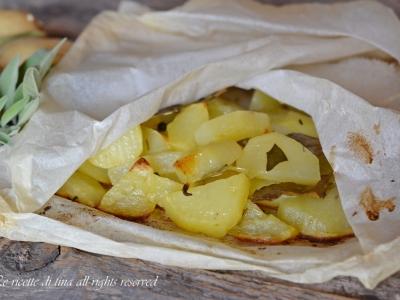 patate,ricette con patate,patate al forno,patate arrosto,patate al cartoccio,le ricette di tina