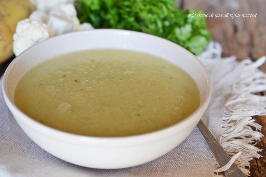 Ricetta cavolfiore e zucchine bimby