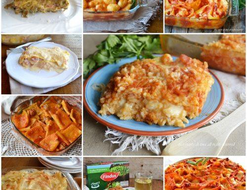 Raccolta ricette primi piatti al forno
