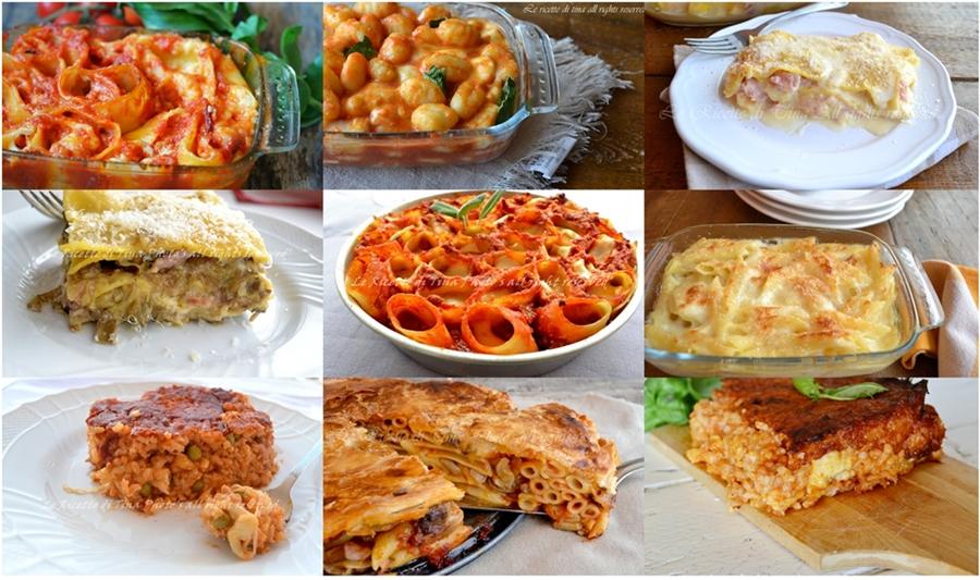 Raccolta ricette primi piatti al forno for Ricette bimby primi piatti