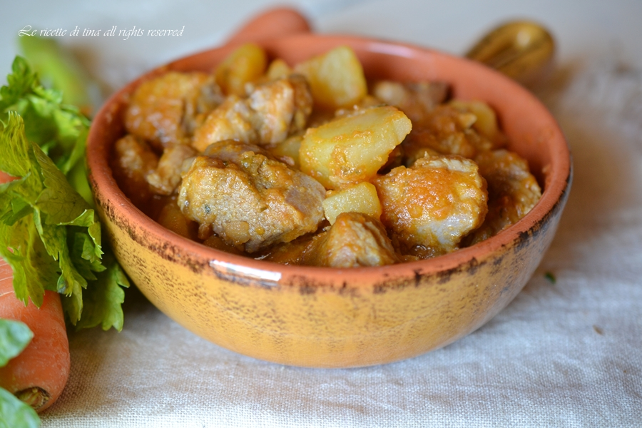 spezzatino con patate bimby,spezzatino,spezzatino bimby,le ricette di tina