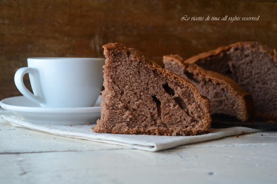 torta all acqua e cacao,torta all acqua,torta semplice per colazione,le ricette di tina