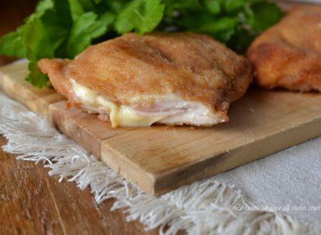 Cotolette di pollo ripiene