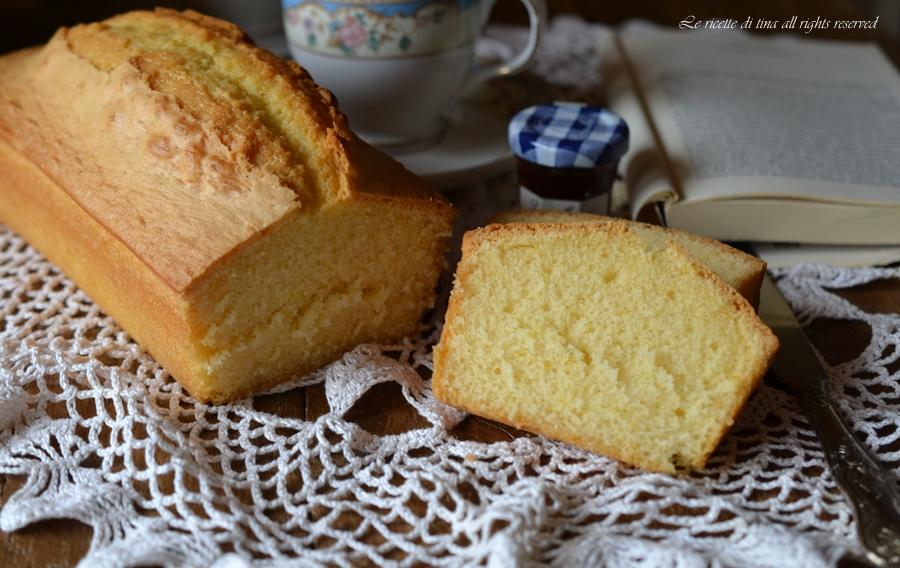 plumcake con ricotta