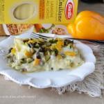 Lasagne con verdure e scamorza