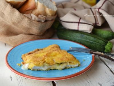 cordon bleu zucchine e formaggio