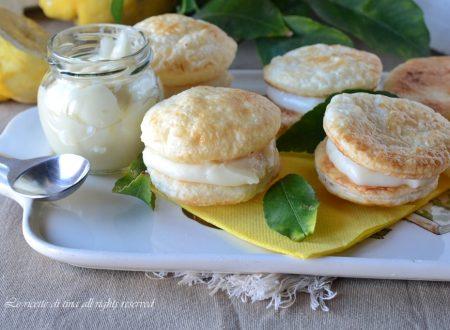 Deliziose con crema al limone