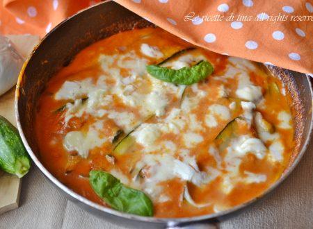 Tortino zucchine in padella
