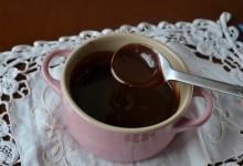 Glassa al cioccolato per dolci