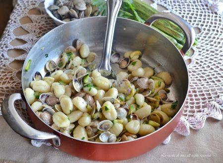 Gnocchi vongole e zucchine