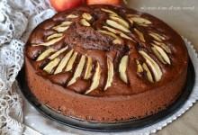 Torta cacao e mele