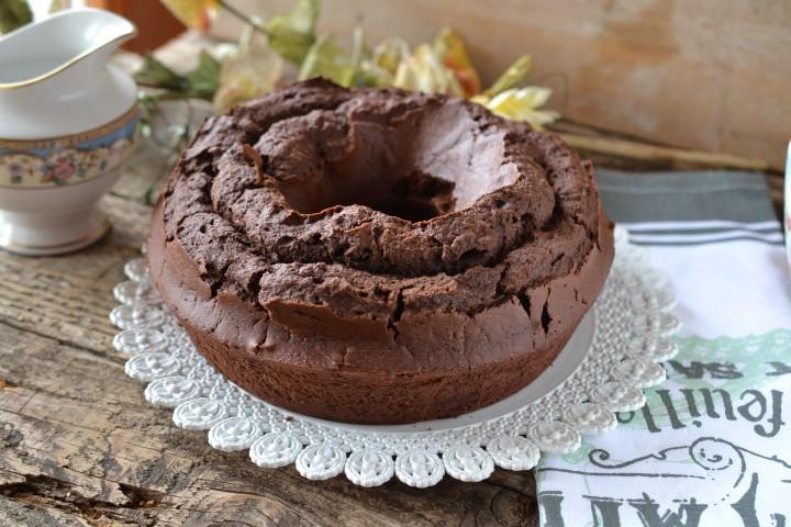 Dolci Da Credenza Bombe E Ciambelle : Ciambella vasetti al cioccolato