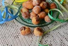 Castagnole con ricotta e nutella dolci