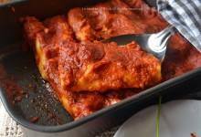 Rotolini lasagne con mozzarella e ricotta veloci