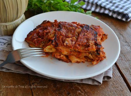 Parmigiana di pasta con melanzane