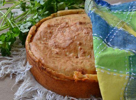 Torta impasto molle salata
