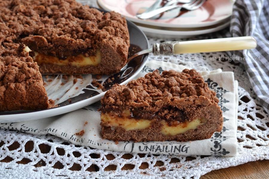 Bien-aimé Sbriciolata cacao con crema pasticcera e nutella AV25