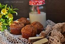 Muffin nutella e wafer
