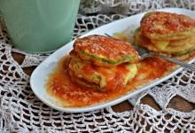 Parmigiana zucchine e patate monoporzione