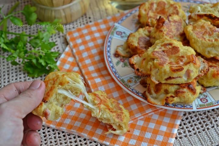 Credenza Per Pane : Polpette di patate e pane con formaggio prosciutto secondo piatto