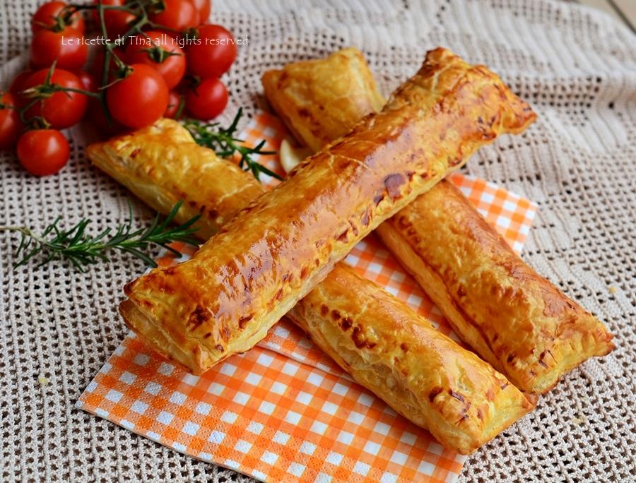 Stecche salate di pasta sfoglia veloci for Pasta ricette veloci