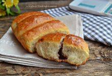 Plumcake di pan brioche con marmellata