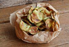 Patatine di zucchine fritte