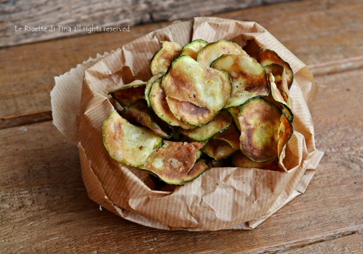 Patatine di zucchine