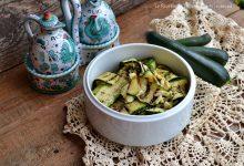 Insalata di zucchine contorno veloce