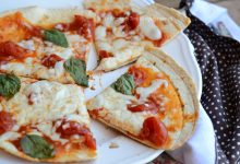 Piadina pizza ricetta veloce