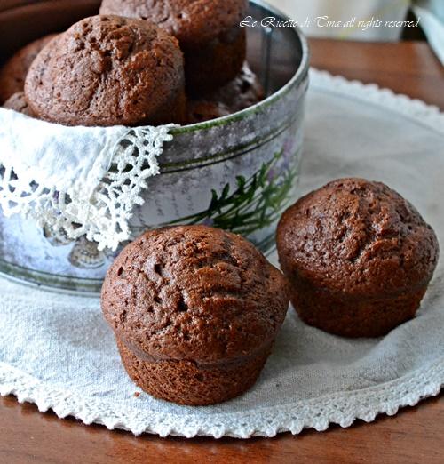 Muffin con banane e ricotta soffici