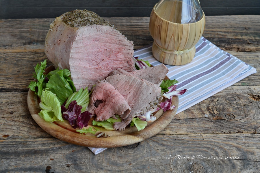 Roast beef cotto sul sale