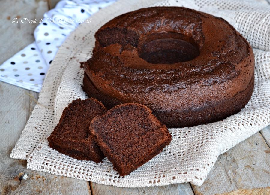 Ciambella nutella e cacao