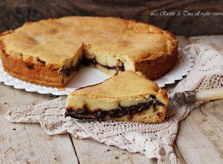 Crostata cioccolato e crema