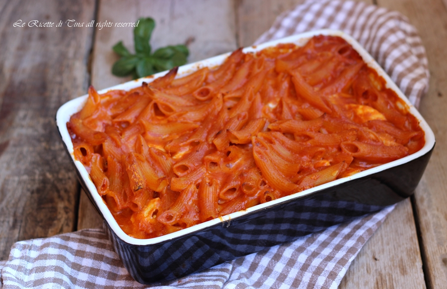 Ricetta pasta forno napoletana