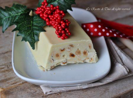 Torrone al cioccolato bianco morbido