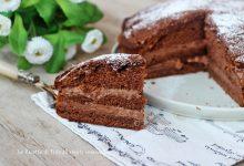 Torta con crema mascarpone  e nutella