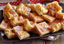 Torta prosciutto cotto e formaggio