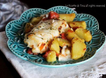 Merluzzo con patate al forno