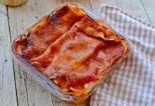 Lasagne salsiccia e scamorza