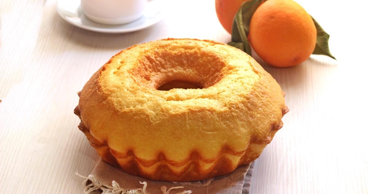 Ciambellone 5 minuti all'arancia