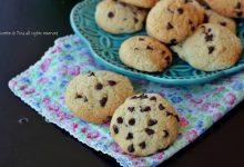 Biscotti veloci con gocce di cioccolato