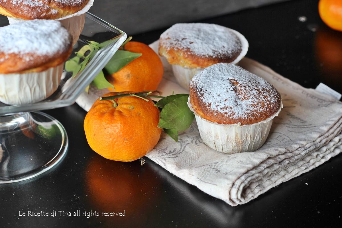 Tortine allo yogurt e mandarini