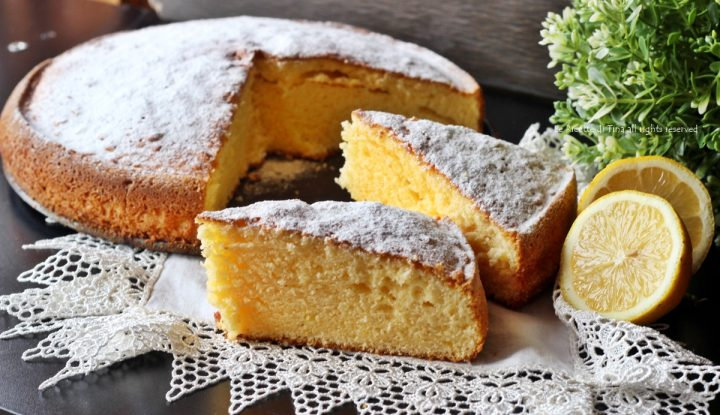 Torta limoncina